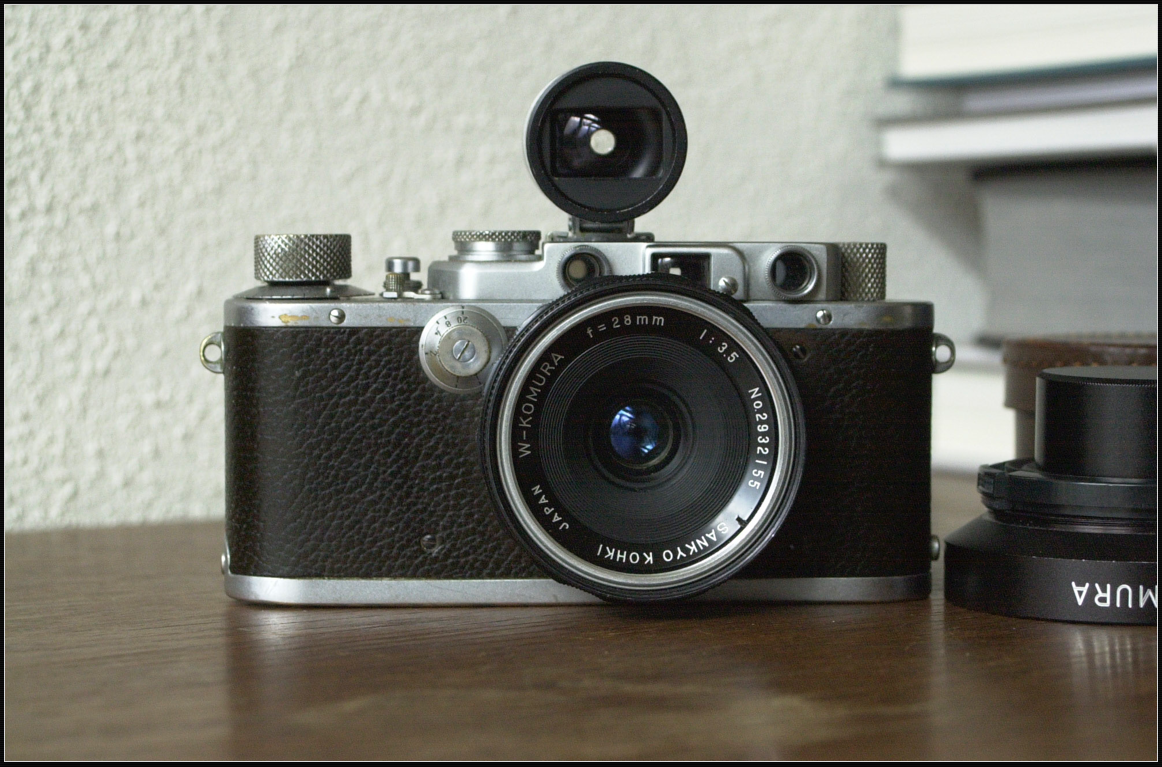 Komura 28mm 3.5 on Leica IIIa