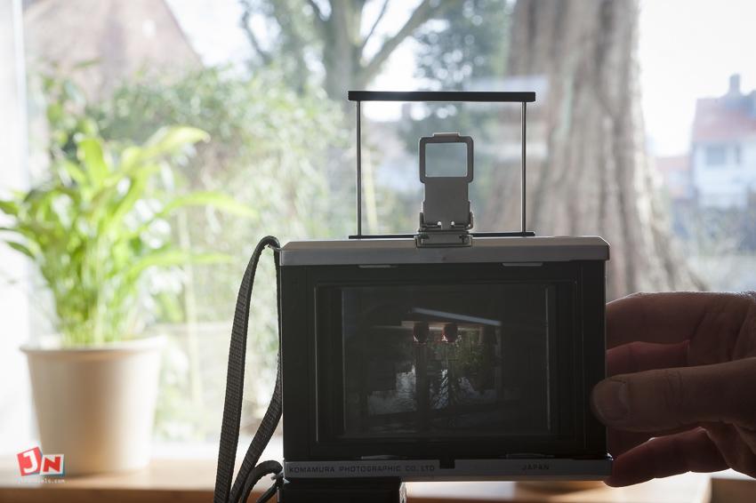 Johan Niels Kuiper Fotograaf in Assen - Horseman Convertible 842 Medium Format Camera
