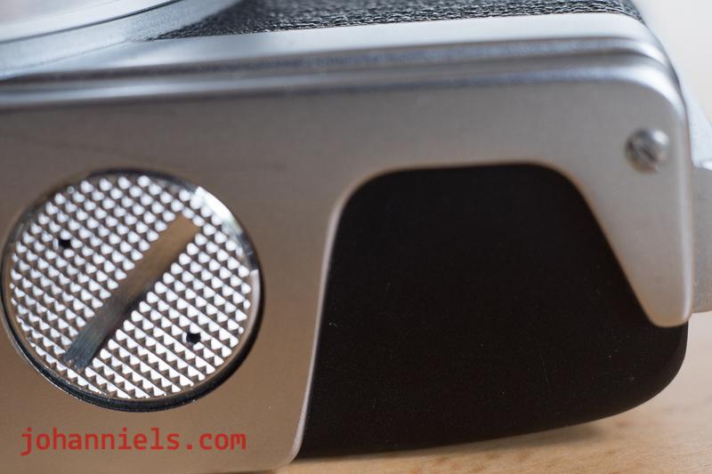 The Minolta Hi-Matic 7S rangefinder camera