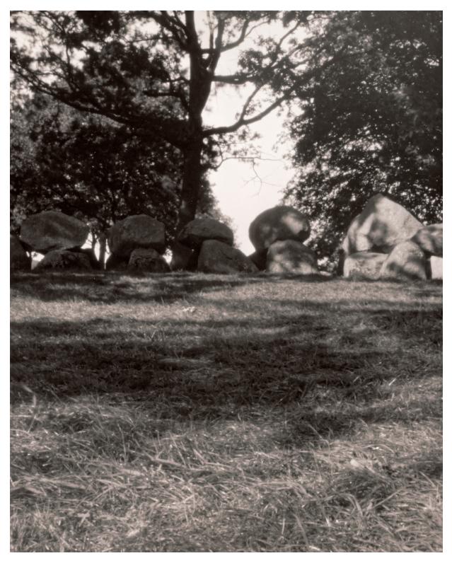 Dolmen grave Hunebed pinhole 4x5 shot